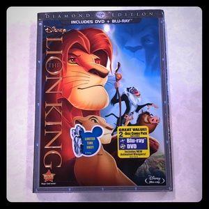 Disney Other The Lion King Diamond Edition Dvd Bluray Poshmark